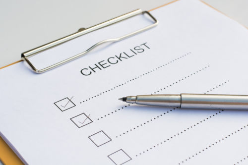 Business Tax Preparation | Checklist